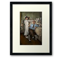 Nurse - Sick Day - 1937 Framed Print