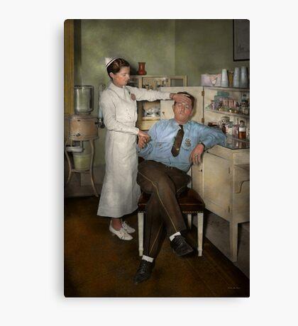 Nurse - Sick Day - 1937 Canvas Print