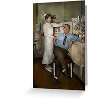 Nurse - Sick Day - 1937 Greeting Card