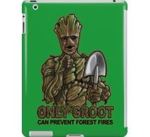 Only Groot iPad Case/Skin