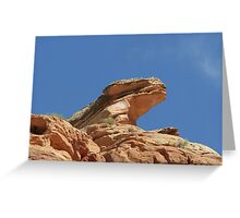 Nine Mile Canyon, Utah - one of America's most endangered places Greeting Card
