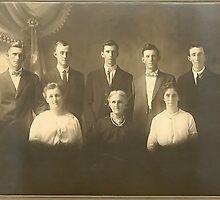 Chapman Family Circa 1914 by Tracy DeVore