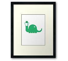 Dinosore Framed Print
