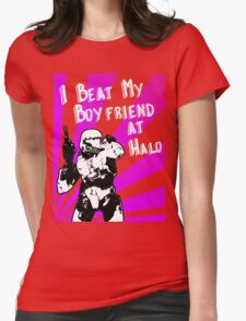 HALO I Beat my Boyfriend At Halo T-Shirt