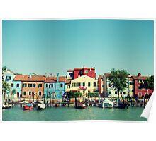 Burano, the beautiful Poster