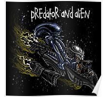 Predator and Alien Poster