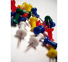 Office Supplies: Pins Photographic Print