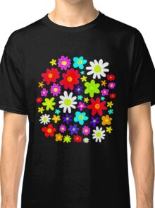 Colourful Flowers Classic T-Shirt