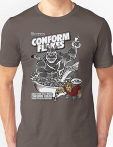 Conform Flakes (BLACK & WHITE ED.) T-Shirt