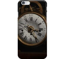 antique clock iPhone Case/Skin