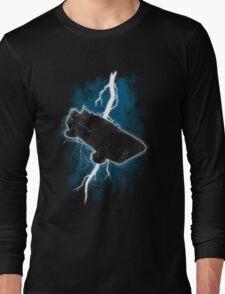 The Delorean Returns Long Sleeve T-Shirt
