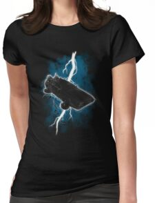 The Delorean Returns Womens Fitted T-Shirt
