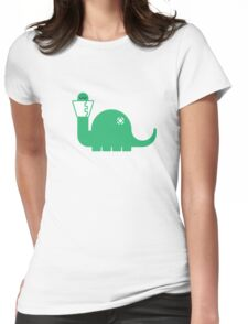Dinosore Womens Fitted T-Shirt