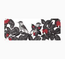 Birds In Rosehips  Kids Clothes