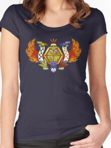 Treasure Hunters Crest (REVAMPED) Women's Fitted Scoop T-Shirt