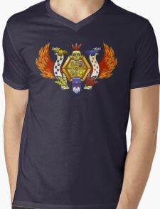 Treasure Hunters Crest (REVAMPED) Mens V-Neck T-Shirt