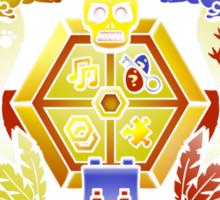 Treasure Hunters Crest (REVAMPED) Sticker