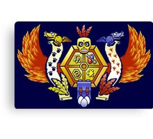 Treasure Hunters Crest (REVAMPED) Canvas Print