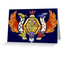 Treasure Hunters Crest (REVAMPED) Greeting Card