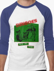 Dingoes Ate My Baby Men's Baseball ¾ T-Shirt