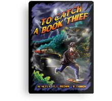 To Catch a Book Thief Metal Print