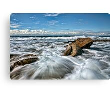 Washed Clean Canvas Print