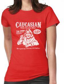 Caucasian Mixer Womens Fitted T-Shirt