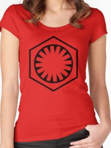 THE FIRST ORDER Women's Fitted Scoop T-Shirt