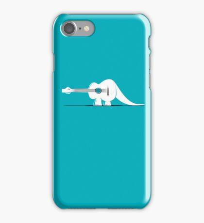 Guitarosaurus iPhone Case/Skin