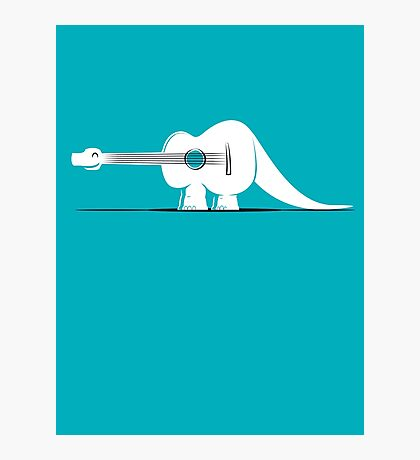 Guitarosaurus Photographic Print