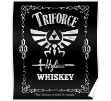 Triforce Whiskey Poster
