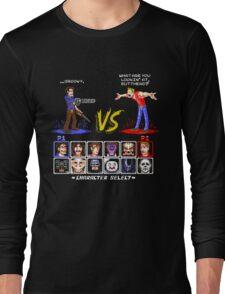 Super 80's Good Vs. Evil 2! Long Sleeve T-Shirt