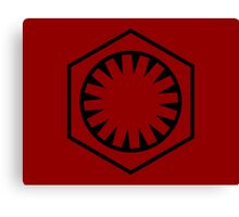 THE FIRST ORDER Canvas Print