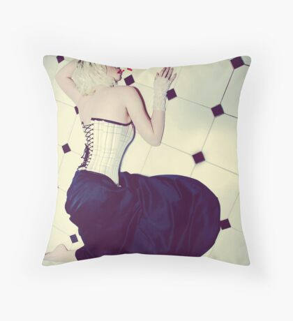 I Puke Glamour III Throw Pillow