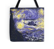 Starry Time Travel Tote Bag