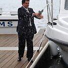 Naming a new boat by Graham Mewburn