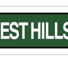 Forest Hills Drive Tour  Sticker