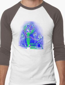 Pokebusters! Men's Baseball ¾ T-Shirt