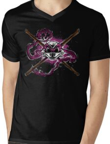 Brains and Bone Mens V-Neck T-Shirt