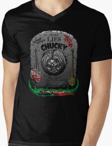 The Legacy of Chucky Mens V-Neck T-Shirt