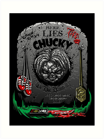 The Legacy of Chucky by Punksthetic