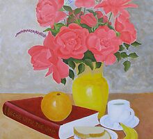 Roses and Fruits No 6 by Thi Nguyen