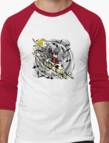 Calvydia and Beetlehobbes (Light Shirts) Men's Baseball ¾ T-Shirt