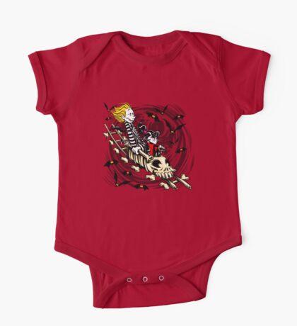 Calvydia and Beetlehobbes (Light Shirts) Kids Clothes