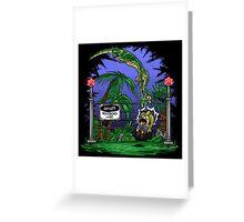 Jurassic Pounce! (Dark Shirts) Greeting Card