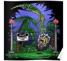 Jurassic Pounce! (Dark Shirts) Poster