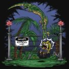 Jurassic Pounce! (Dark Shirts) by Punksthetic