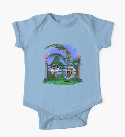 Jurassic Pounce! (Light Shirts) Kids Clothes