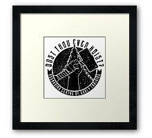 Asgardian Training Framed Print