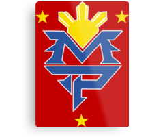 Manny Pacquiao Logo Tee - The Fight  Metal Print
